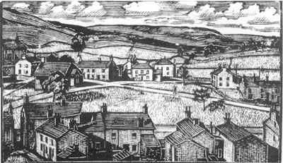 Bainbridge from Marie Hartley's 'Wood Engravings',  Smith Settle 1996.
